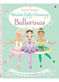 Sticker Dolly Dressing Ballerinas   Watt Fiona, ISBN:  9781409595281