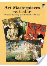Art Masterpieces to Colour   Noble Marty, ISBN:  9780486433813