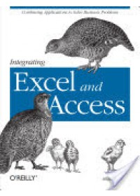 Integrating Excel and Access   Schmalz Michael, ISBN:  9780596009731