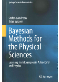 Bayesian Methods for the Physical Sciences   Andreon Stefano, ISBN:  9783319152868