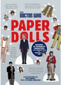 Doctor Who Paper Dolls   Guerrier Simon, ISBN:  9781785942655