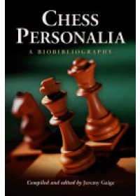 Chess Personalia   Gaige Jeremy, ISBN:  9780786423538