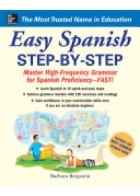 Easy Spanish Step-by-Step   Bregstein Barbara, ISBN:  9780071463386