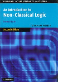 Introduction to Non-classical Logic   Priest Graham, ISBN:  9780521670265