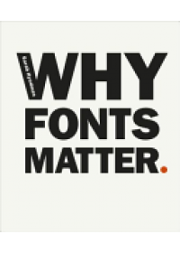 Why Fonts Matter   Hyndman Sarah, ISBN:  9780753557235