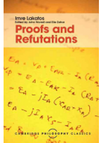 Proofs and Refutations   Lakatos Imre, ISBN:  9781107534056