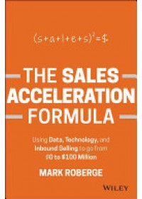 Sales Acceleration Formula   Roberge Mark, ISBN:  9781119047070