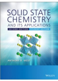 Solid State Chemistry and Its Applications   West Anthony R., ISBN:  9781119942948