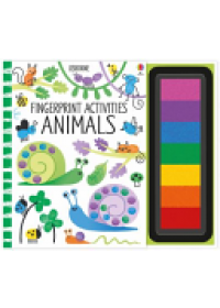 Fingerprint Activities: Animals   Watt Fiona, ISBN:  9781474914338