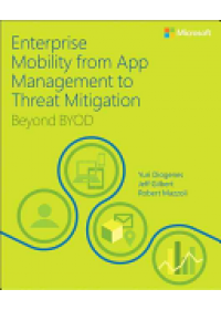 Enterprise Mobility with App Management, Office 365, and Threat Mitigation   Diogenes Yuri, ISBN:  9781509301331