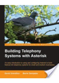 Building Telephony Systems with Asterisk   Gomillion David, ISBN:  9781904811152