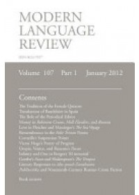 MLR January 2012   Richardson Brian, ISBN:  9781907322570