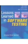 Lessons Learned in Software Testing   Kaner Cem, ISBN:  9780471081128